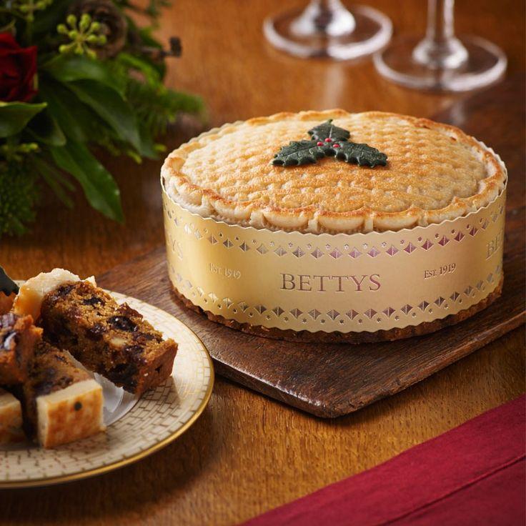 Toasted Marzipan Christmas Cake