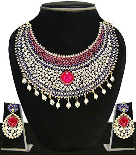 Traditional Bollywood Fashionable Gold Plated Pink Blue C... https://www.amazon.com/dp/B01MRI3OUA/ref=cm_sw_r_pi_dp_x_FGxgzb1VC7DWQ