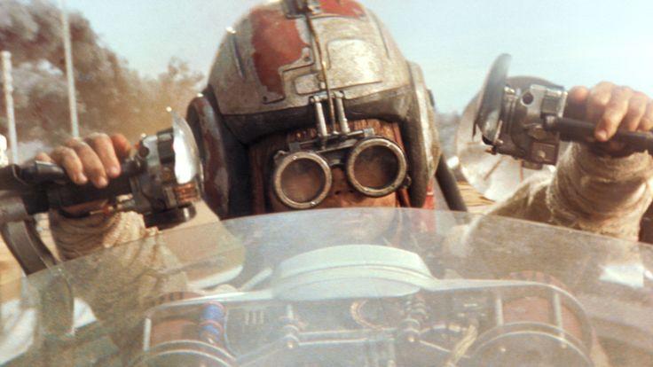 The Phantom Menace - Jake Lloyd as Anakin Skywalker duelling Sebulba the Dug