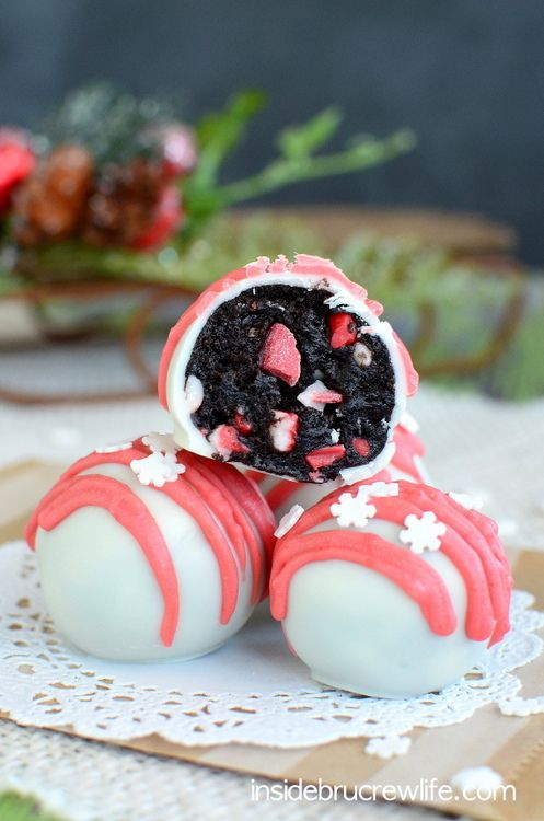 Piece, Andes Peppermint, Oreo Truffles, Truffles Recipe, Peppermint ...
