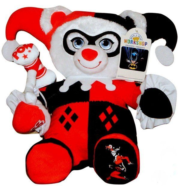 HOT TOY Harley Quinn Build a Bear Batman Day Sept. 23rd 2017 Online Exclusive DC Comics 25th Anniversary 16in. Stuffed Plush Toy Teddy HTF In Stock Now at https://www.bonanza.com/listings/Harley-Quinn-Build-a-Bear-Batman-Day-Exclusive-DC-Comics-2017-16in-Teddy-Toy/511964310