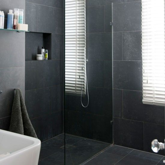 dark tile bathroom ideas 17 best images about it rooms on 17121