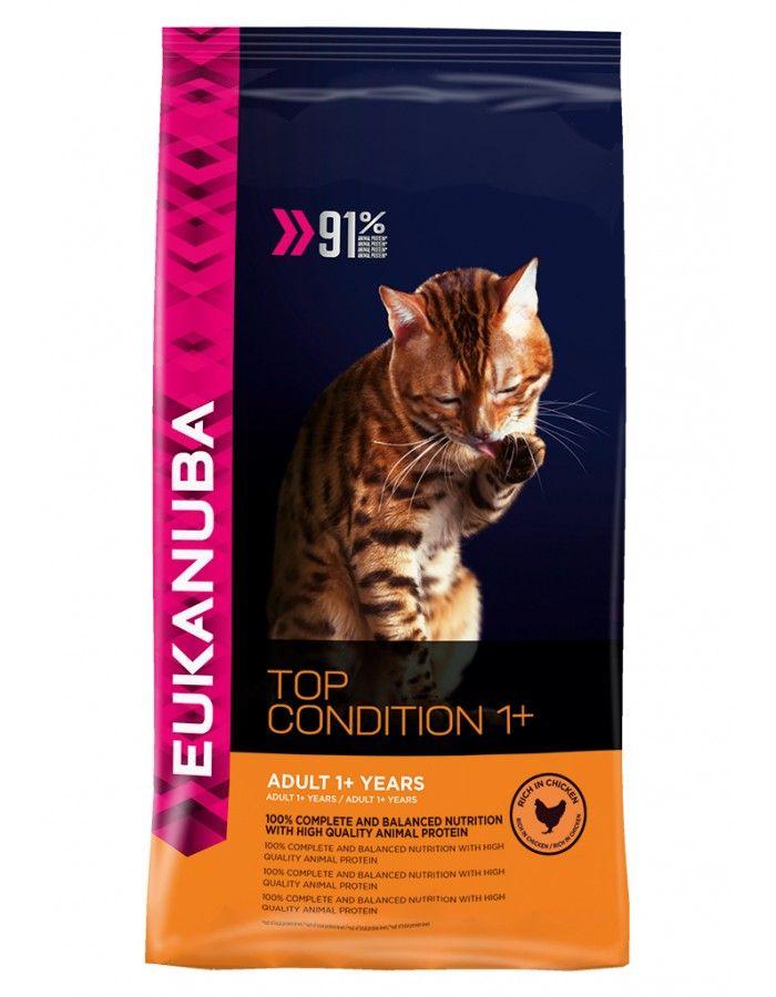 Eukanuba Cat Adult Top Condition 1+  10 kg