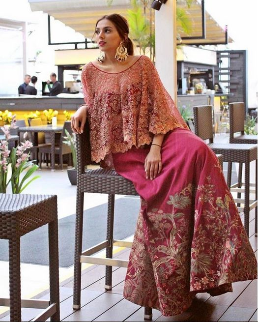 Payal Shah models a piece from our new collection in Hong Kong