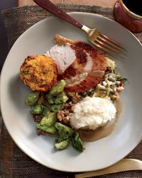 Michael Symon's Brown Butter Mashed Potatoes via Food and Wine Magazine