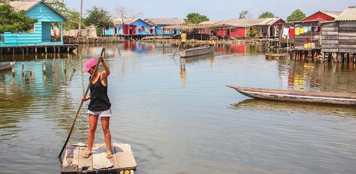 Pueblos Palafitos - Ciénaga Grande de Santa Marta http://awake.travel/expedicion/pueblos-palafitos-ci%C3%A9naga-grande-de-santa-marta
