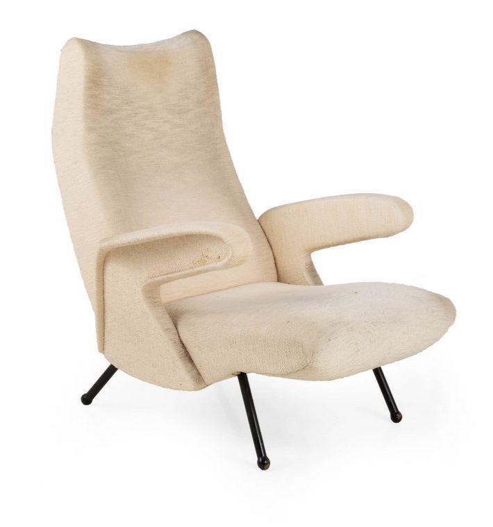 Erberto Carboni; U0027Delfinou0027 Lounge Chair For Arflex, ...