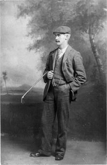 John Henry Taylor(1871-1963) English Golfer and a pioneer of the modern game. He won six majors– five open Championships, and one US open.He also Captained the Great Britain Ryder cup winning team in 1933.He was inducted into world Golf's Hall of fame in 1975.