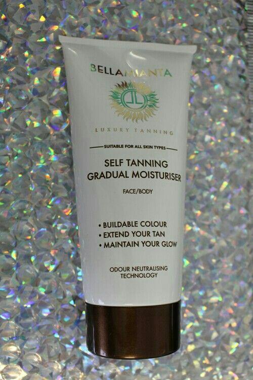 Bellamianta Self Tan Gradual Tan , perfect for a buildable tan !! Www.Fayrebeauty.com #selftan #tan #irishtan #tangoals #gradualtan