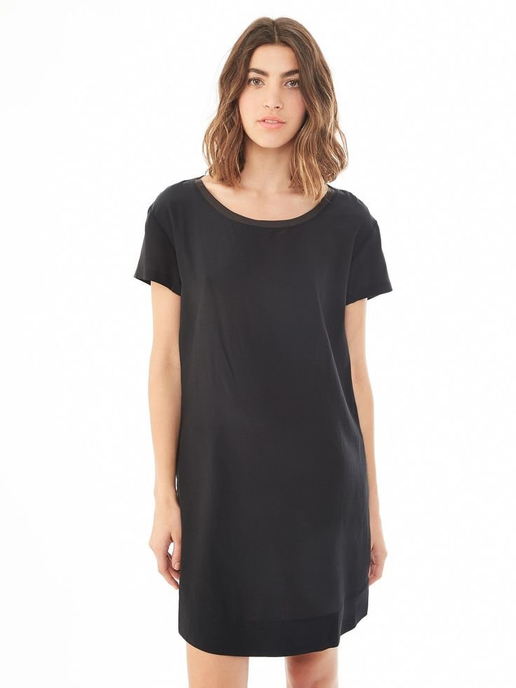 Silk T-Shirt Dress
