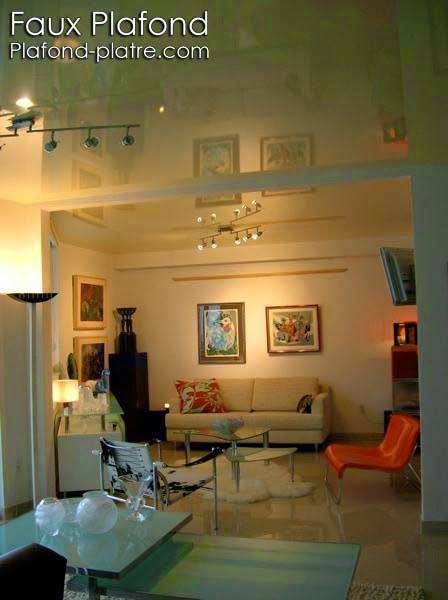 50 best images about faux plafond on pinterest coiffures for Plafond suspendu lumineux