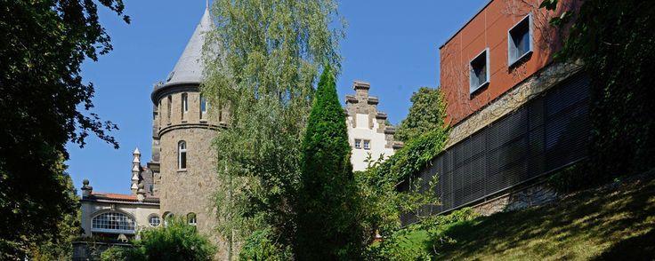 Exterior shoot of the Ringhotel Villa Westerberge in Aschersleben, 3-star hotel in the Harz region