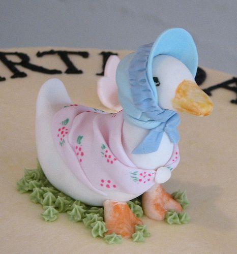 Duck Cake Decorations Uk : 1000+ images about Peter Rabbit & Jemima Puddleduck Cake ...