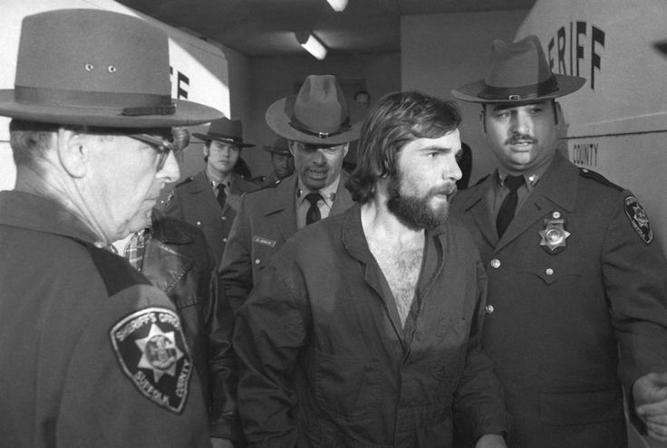 Ronald DeFeo Jr. leaves Suffolk County district court after a hearing on Nov. 15, 1974, one day after he killed his parents and four siblings in their home in Amityville, Long Island, NY