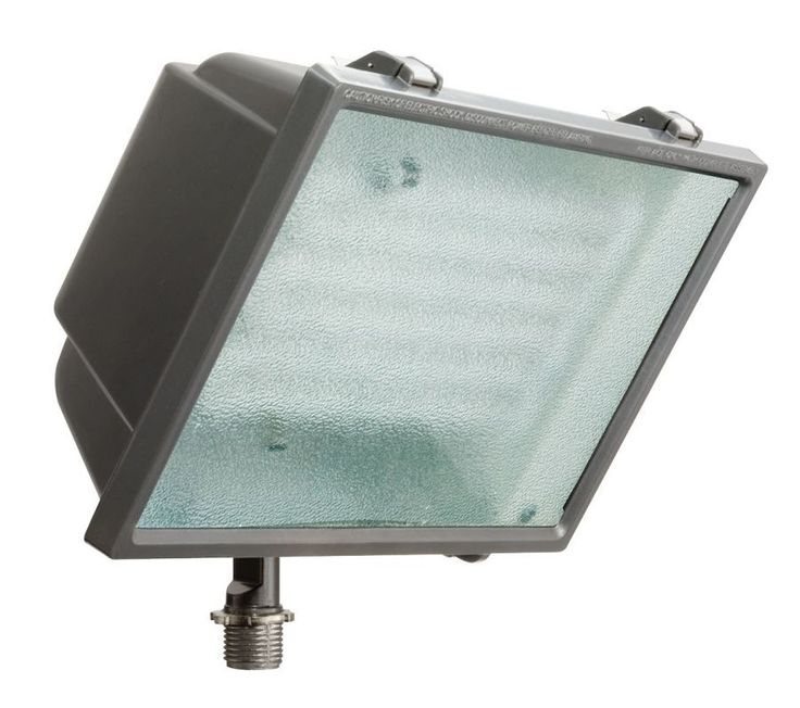 Lithonia Lighting OFL2 65F 120 LP 1 Light Triple Tube Outdoor Flood Light  Bronze Commercial Lighting