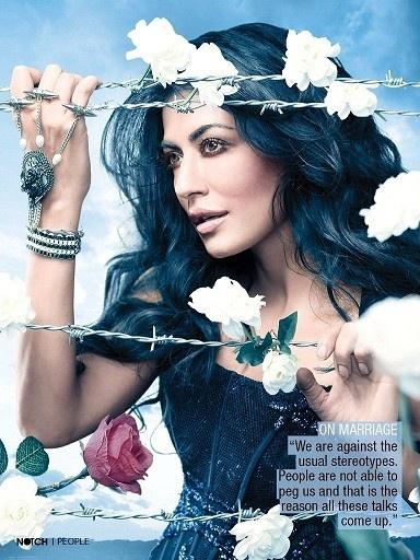 Chitrangada Singh's Scans from Notch Magazine - March 2013.