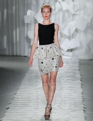 Peplum...Jason Wu: Clothing Addiction, Peplum Jason Wu, Black And White, Fashion Forward, Spring Trends, 2012 Spring, Spring 2012, 2012 Trends, Peplum Dresses