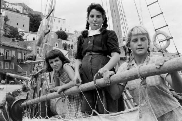 James Burke Κορίτσια στην Υδρα,1960