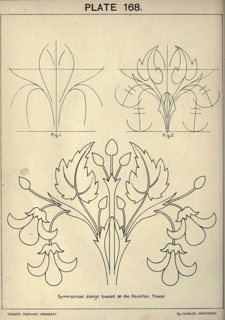 Cusack's freehand ornament. A text book with chapters on elements, principles, and methods of freehand drawing, for the general use of teachers and students .. ([pref. 1895])https://archive.org/stream/cusacksfreehando00armsrich#page/n7/mode/2up