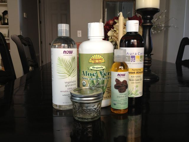 Overthrow Martha: Simple Facial Moisturizer with Aloe for Dry, Sensitive, and Red Skin with DIY Tutorial