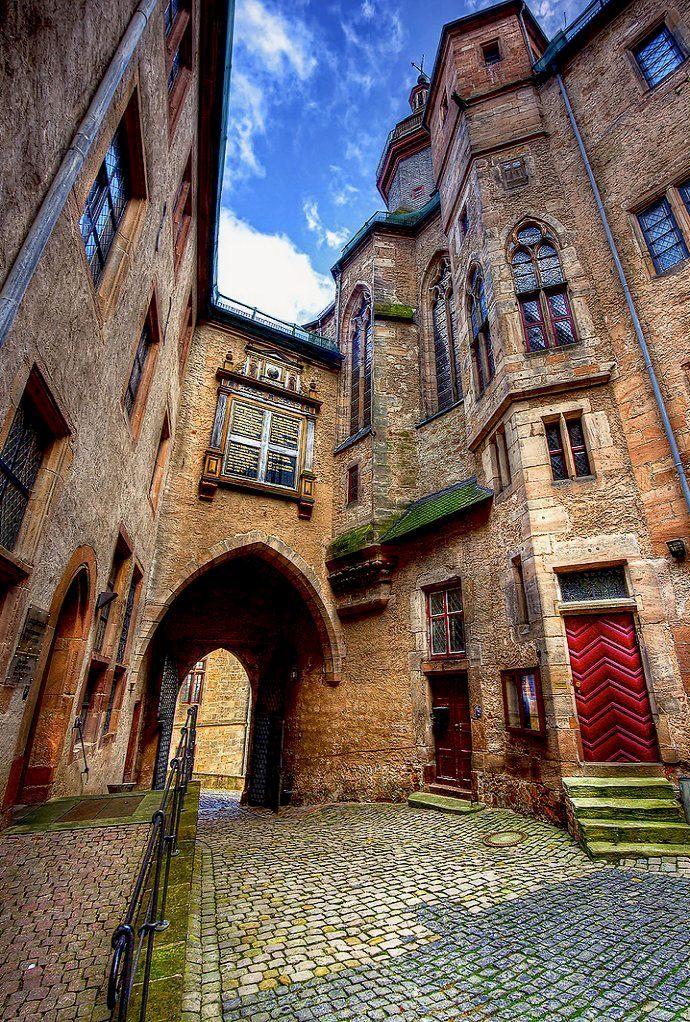 The Town of Marburg, Hesse, Germany