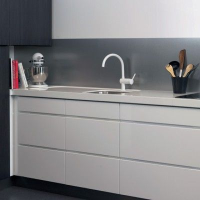 BerryAlloc Kitchen Wall Aluminium