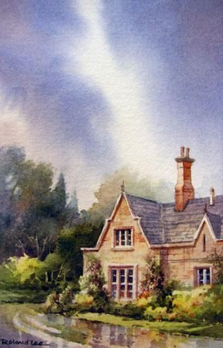 17 Best Images About Watercolor Cottage On Pinterest