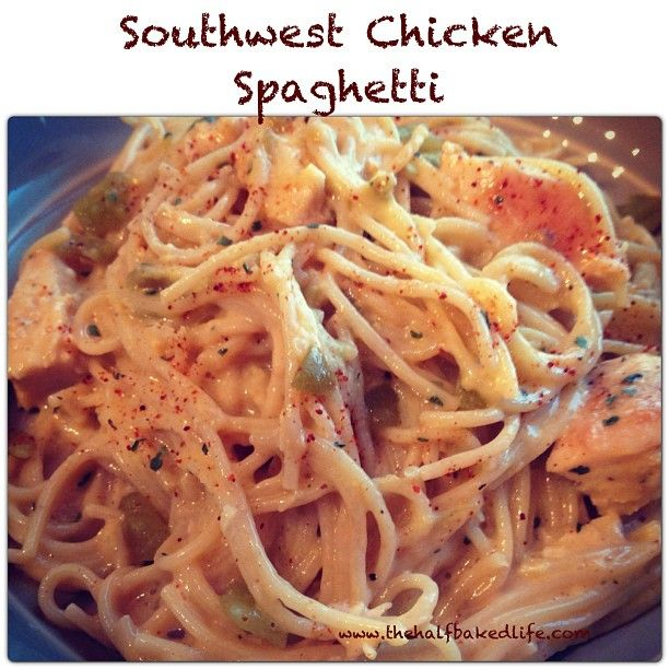 I love pasta and I love things with a bit of heat. This dish looks like it has the best of both worlds. Spaghtti O·lé