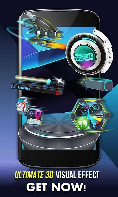 ApkApps5 - Android Apps Apk: Next Launcher 3D Shell v3.7 Patched apk