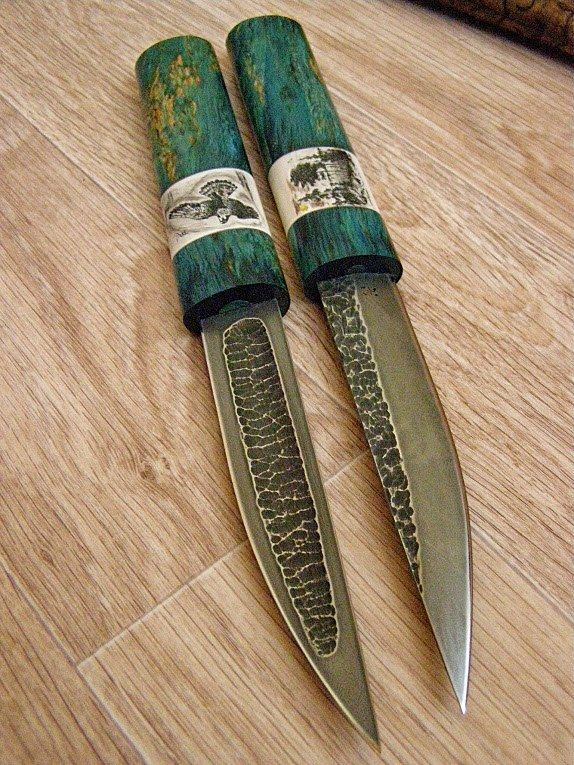 Yakut knives (bykhakh) Siberian traditional knives.
