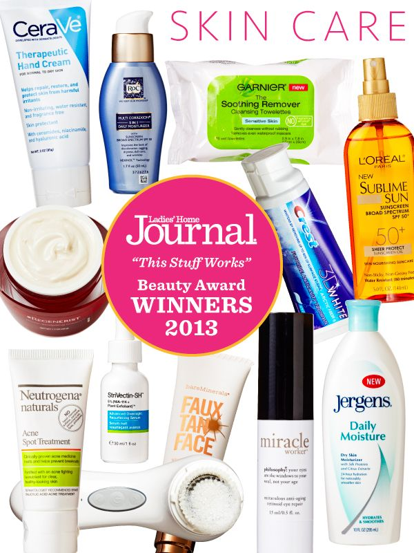 """The third annual """"This Stuff Works"""" Beauty Award winners in the skin category -- Click through to see why we picked the ones we did!"""