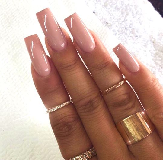 long square nails ideas