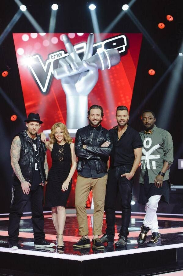 The Voice Australia 2014 #teamKYLIE #TheVoiceAu #KM2014
