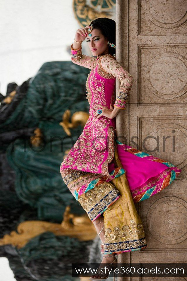 Latest Designer Wedding Dresses | Ansari-Designer-at-Style360-LABELS-e-Store-Latest-Party-Wedding-Bridal ...