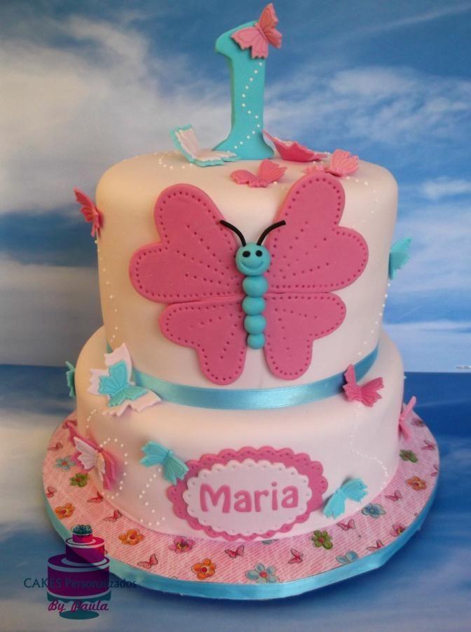 Butterfly Cake by CakesByPaula