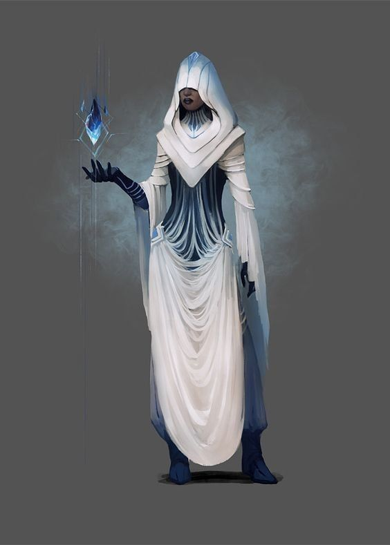 Female icy mage, ice mage, frozen mage, female frozen mage, icy