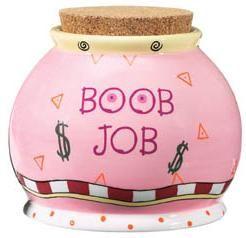 Boob Job Money Jar 94