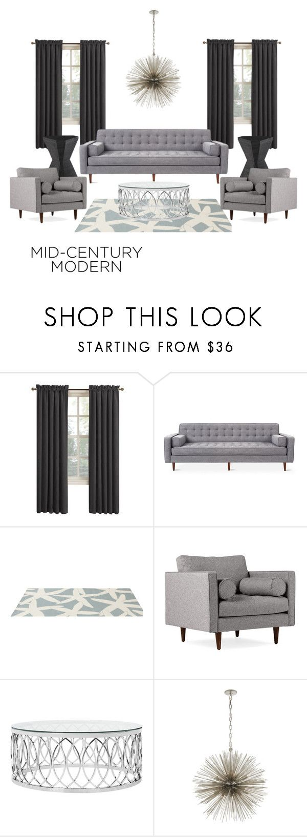 """Dimensional home"" by oliviagrace14 ❤ liked on Polyvore featuring interior, interiors, interior design, home, home decor, interior decorating, Sun Zero, Somerset Bay, Joybird and Safavieh"