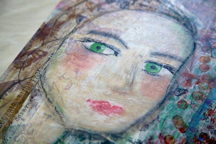 Ilana Painted Faces IV