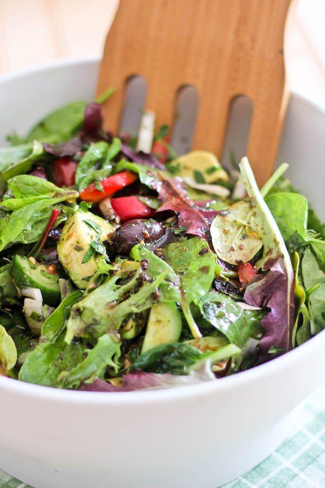 Loaded House Salad with Vinaigrette