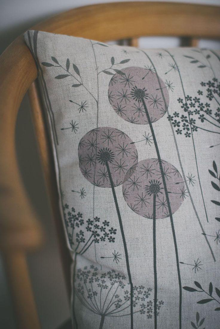 Hannah Nunn: Paper meadow cushion