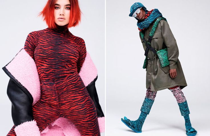 Kenzo x H&M collaboration