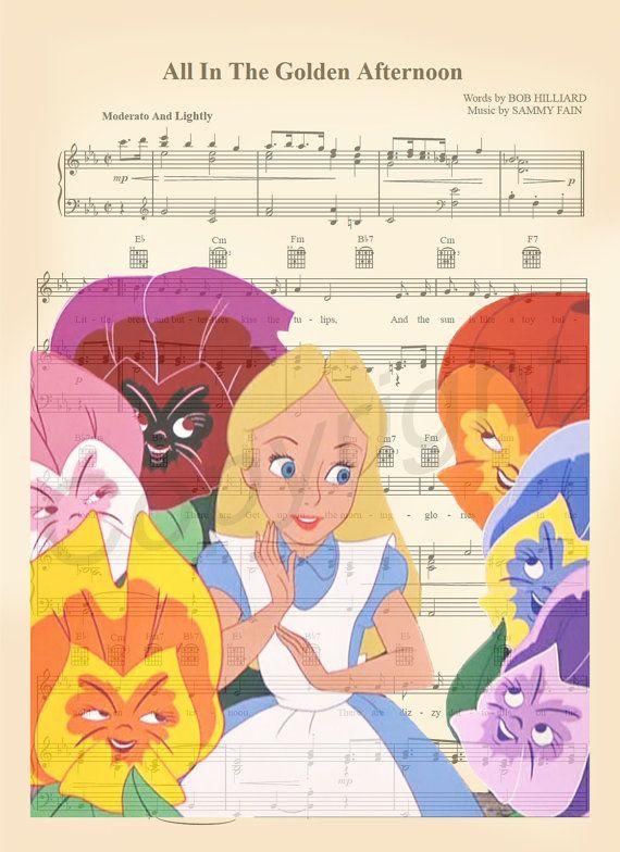 Alice au pays des merveilles musique exotique par AmourPrints