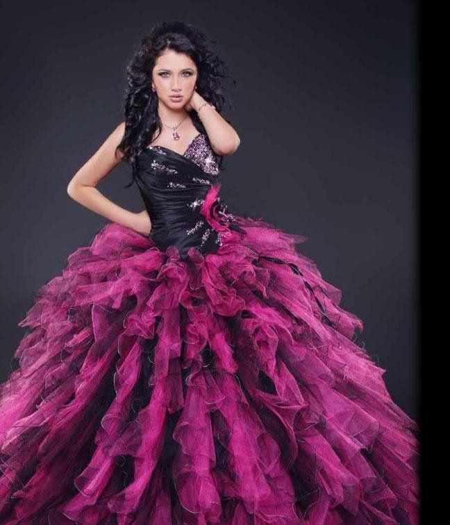 Colores y Diseños Variados Vestidos de 15 años