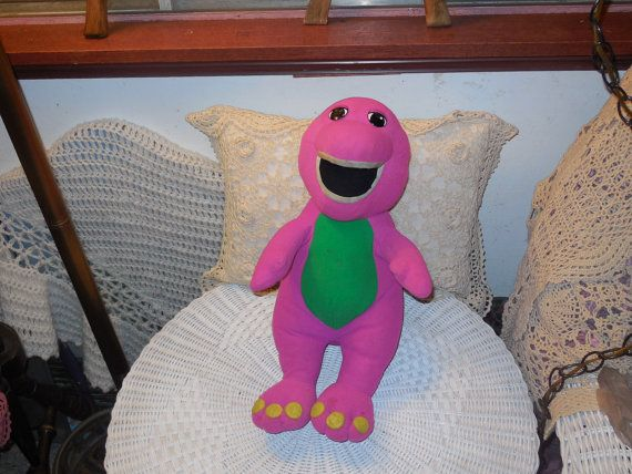 Barney the Dinosaur Talking Singing Play by Daysgonebytreasures