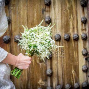 ramo de novia, astrantia, astilbe, bubardia, ranunculos bridal bouquet http://www.pecci.es