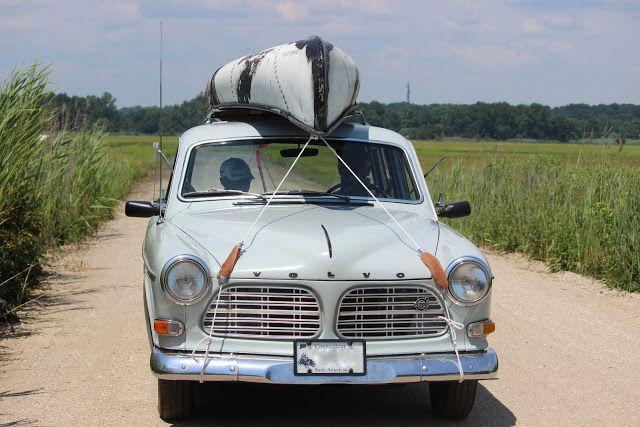 Salt Water New England: A 1968 Volvo Amazon Wagon.
