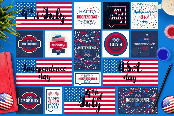 4th Of July Banners By Barsrsind Shop