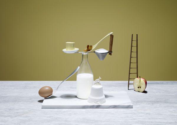 Apple Cake  Ricettario A balanced diet   Styling: Elena Mora Photographer: Karsten Wegener