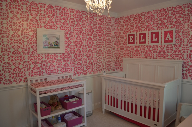 43 Best Images About Stenciled Nurseries On Pinterest